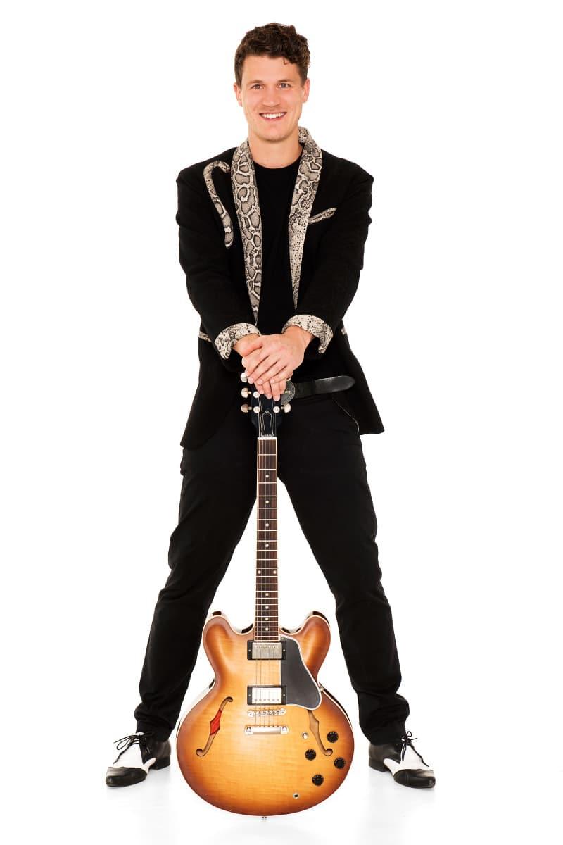 Marinus Christof - Gitarrist bei den Cagey Strings